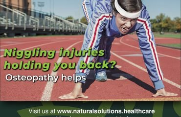 Niggling injuries holding you back? Osteopathy helps.